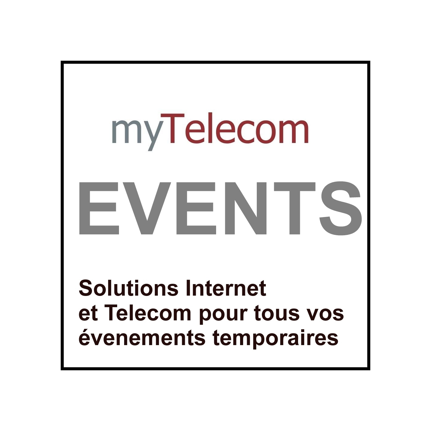 Les offres wifi hotel myTelecom Events