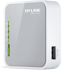 TPlink MR3020 : mini routeur 3G avec point Wifi 150Mb : format desktop