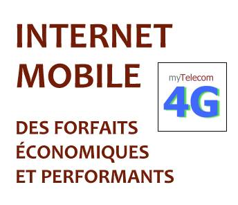 Abonnements 4G Data pour VPN